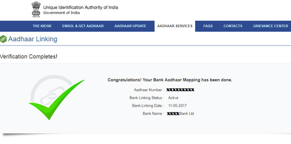 How to Check Status of Aadhar Card with Banks Linking