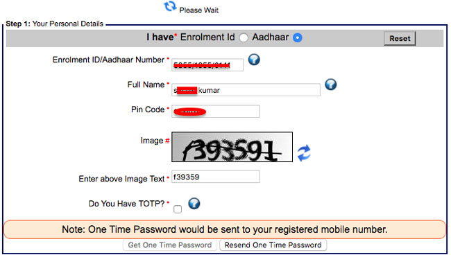 How to Download Aadhaar Card by Name & Date of Birth?