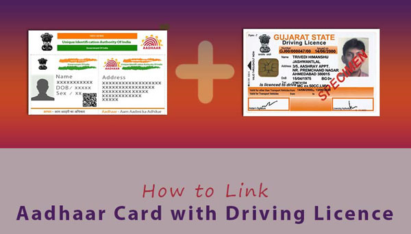 Linked Aadhaar Card with Driving Licence