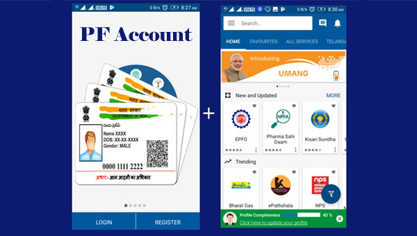 How to Link Aadhaar Card with PF account via UMANG?