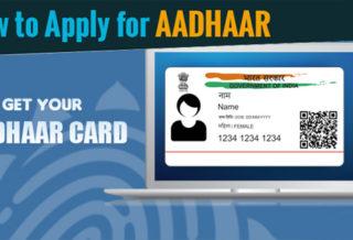 How to Apply Aadhar Card
