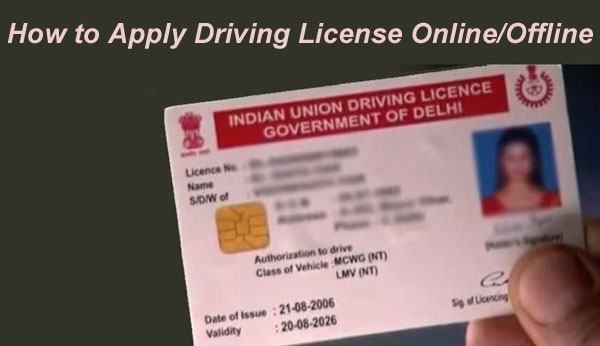 How to Apply Driving License