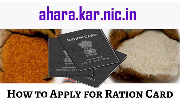 How to Apply Ration Card Karnataka