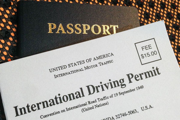 International Drivers Permit in India
