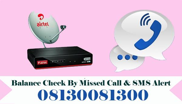 Airtel Digital TV Balance Check