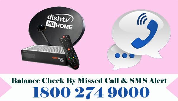 Dish TV Balance Check