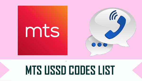 MTS USSD Codes List