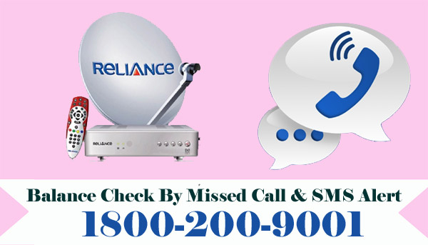 Reliance Digital TV Balance Check