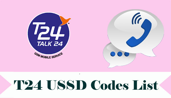 T24 USSD Codes List
