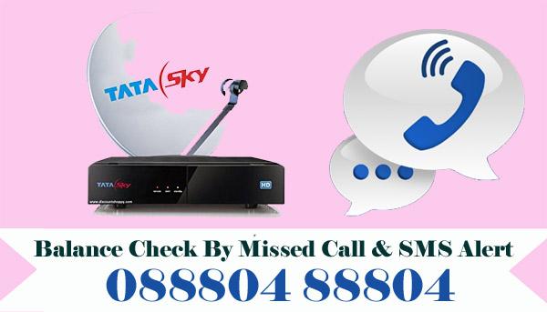 Tata Sky Balance Check