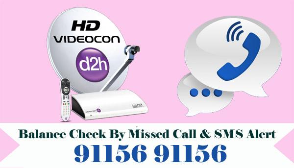 Videocon D2H Balance Check