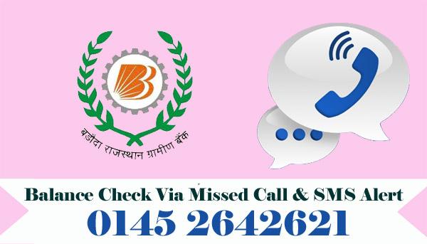 Baroda Rajasthan Kshetriya Gramin Bank Balance Check