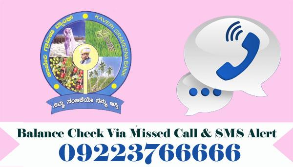 Kaveri Grameena Bank Balance Check