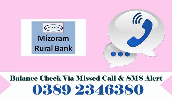 Mizoram Rural Bank Balance Check