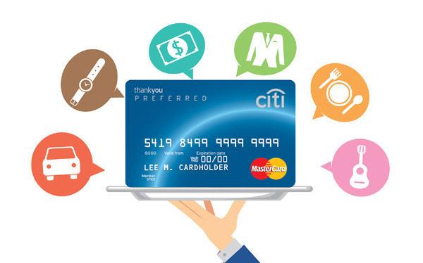 Citi Credit Card Reward Points Online