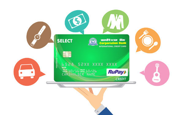 Corporation Bank Credit Card Reward Points Online