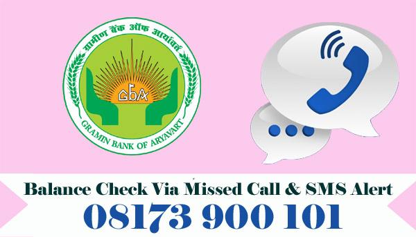 Gramin Bank of Aryavart Balance Check