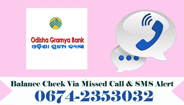Odisha Gramya Bank Balance Check