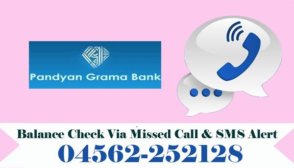 Pandyan Grama Bank Balance Check