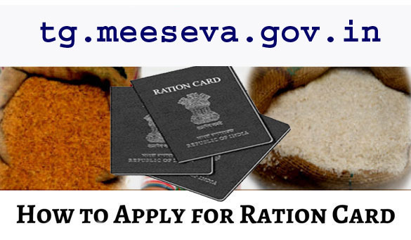 Apply for Ration Card in Telangana