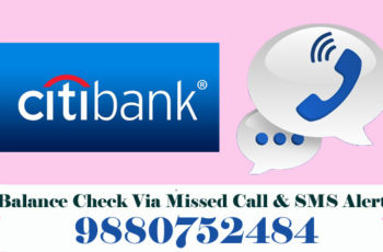 Citibank Balance Check