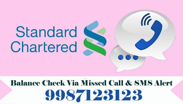 Standard Chartered Bank Balance Check