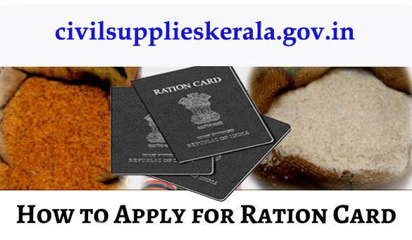 Ration Card Apply in Kerala