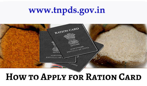 Ration Card Apply in Tamil Nadu