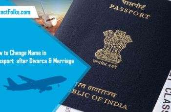 How to Change Name in Passport after Divorce & Marriage