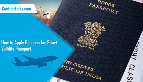 How to Apply Process for Short Validity Passport