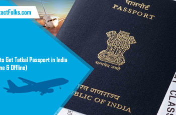 How to Get Tatkal Passport in India (Online & Offline)