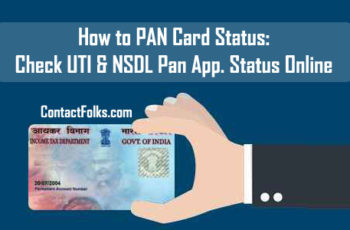 How to PAN Card Status: Check UTI & NSDL Pan Application Status Online 2019