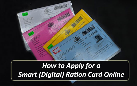 How to Apply for a Smart (Digital) Ration Card Online
