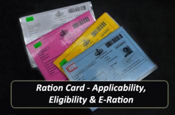Ration Card - Applicability, Eligibility & E-Ration