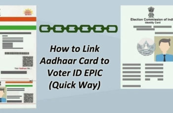 Link Voters ID with Adhaar - UPDATE Voter ID EPIC Online
