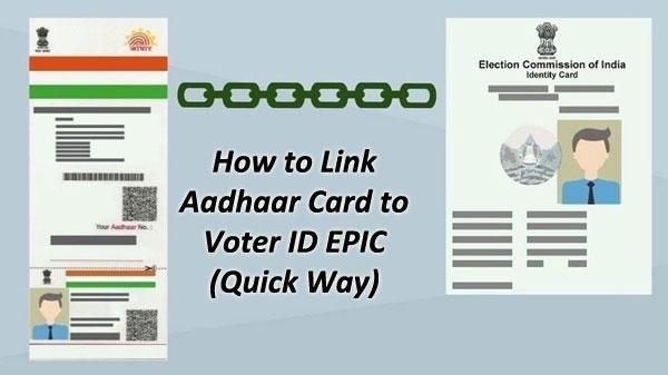 Link Voters ID with Adhaar - UPDATE Voter ID EPIC Online