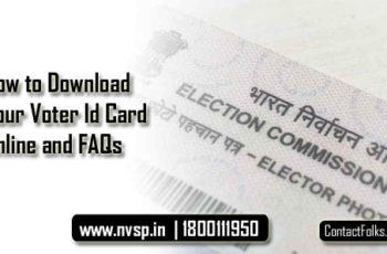 How to Download Your Voter Id Card Online and FAQs