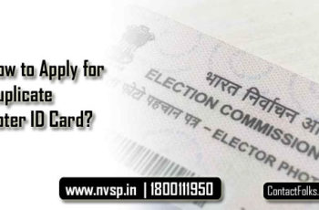 How to Apply for Duplicate Voter ID Card?