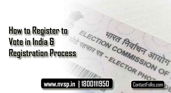How to Register to Vote in India & Registration Process
